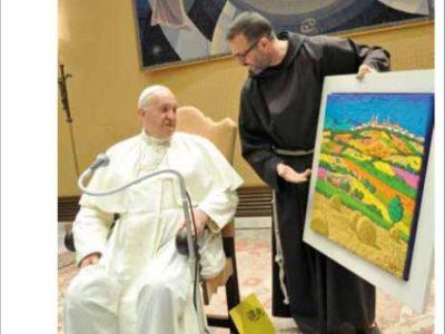 """Orizzonti della Marca - Un quadro """"camerinese"""" dal Papa"""