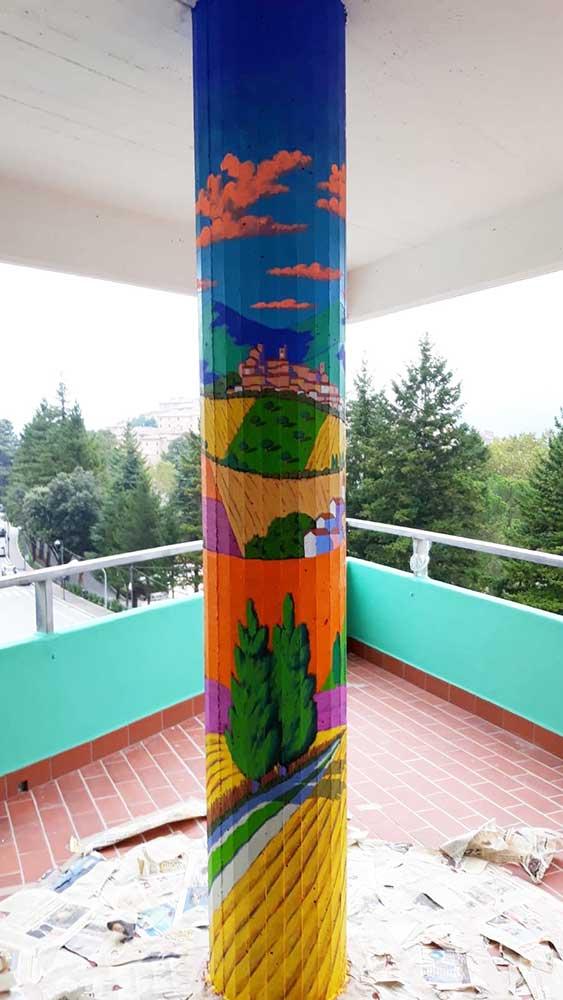 Pitture murali - Stefano Calisti