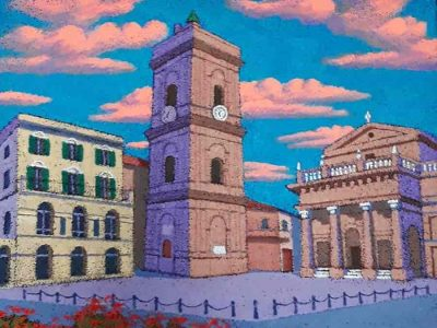 Piazza di Lanciano 40x40